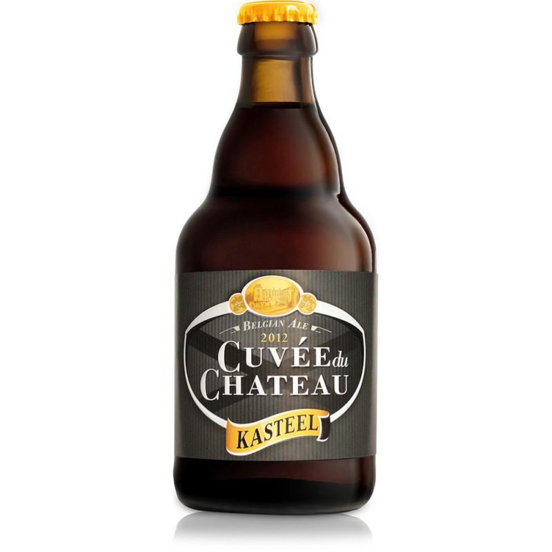 Pack 4 Cerveza + Copón Kasteel Cuvée Du Château 330 ml