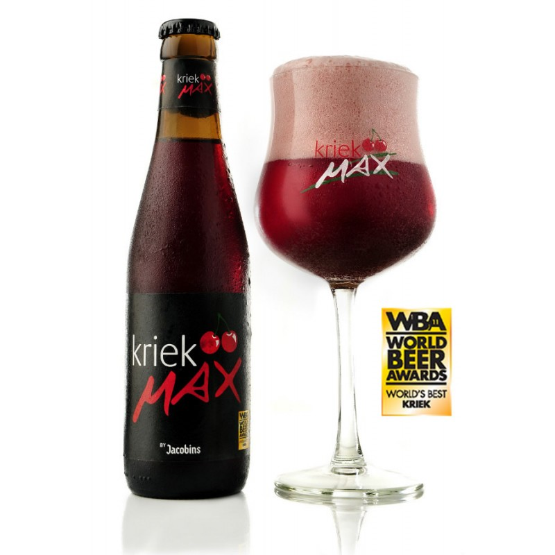 Pack 6  Cervezas Kriek Max 250cc  - Bélgica