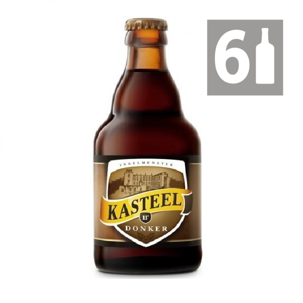 Pack 6  Kasteel Donker 330 ml