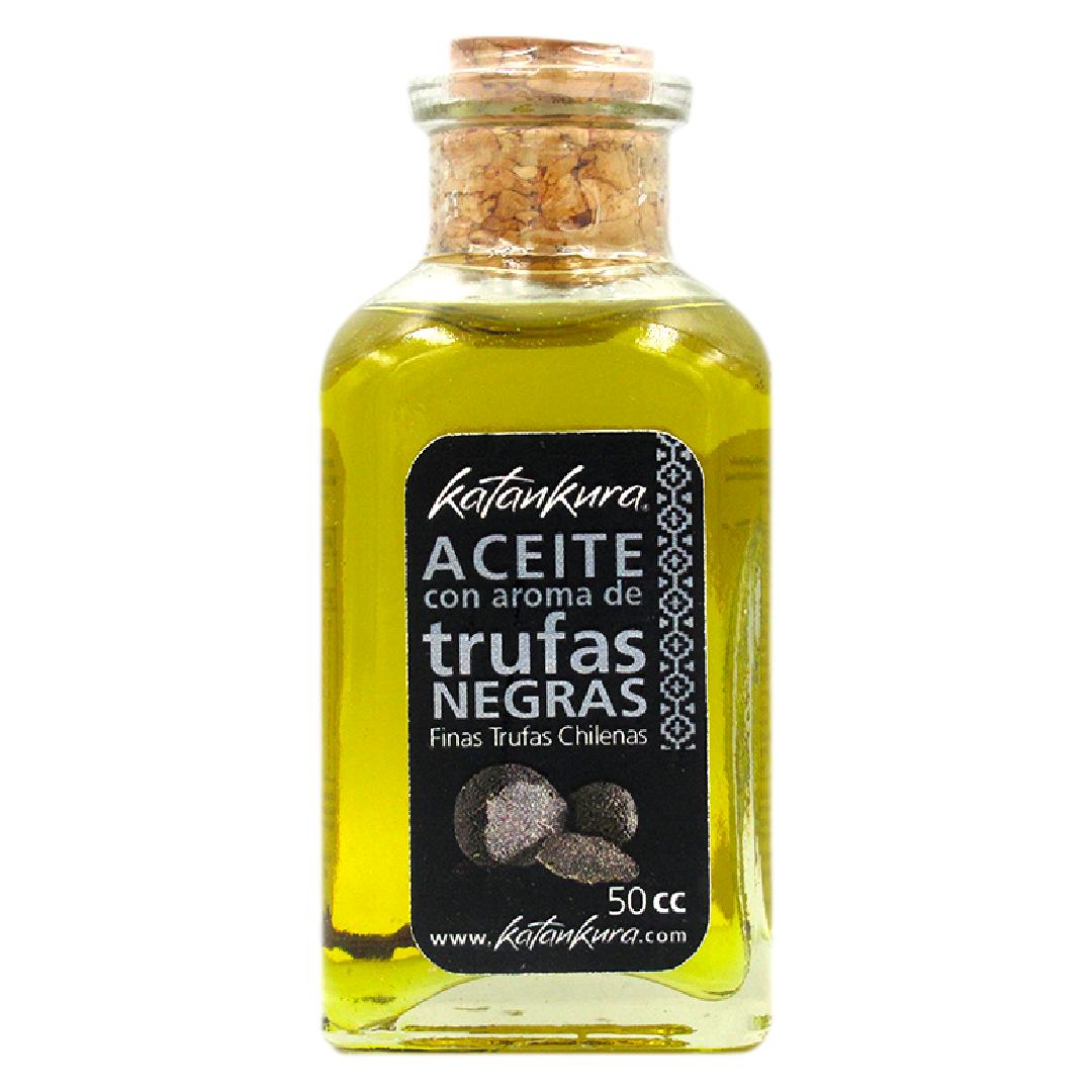 Aceite de oliva con aroma de trufas negras, 50 ml - Katankura