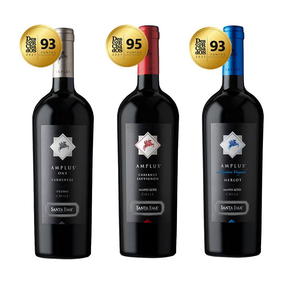 Mix Trio Amplus Premium - Viña Santa Ema