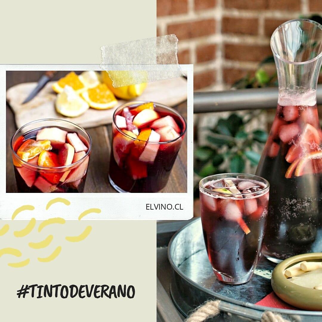 Prepara un rico Tinto de Verano con esta receta de www.elvino.cl