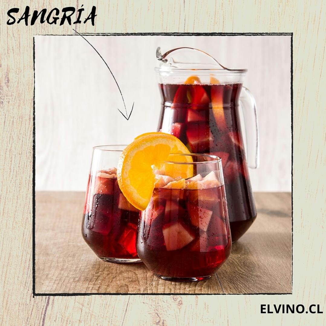 ¡Disfruta de una rica Sangría con esta receta de www.elvino.cl!