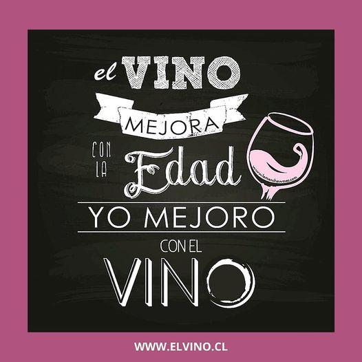 ¿Ustedes también mejoran con el vino?😊🍷