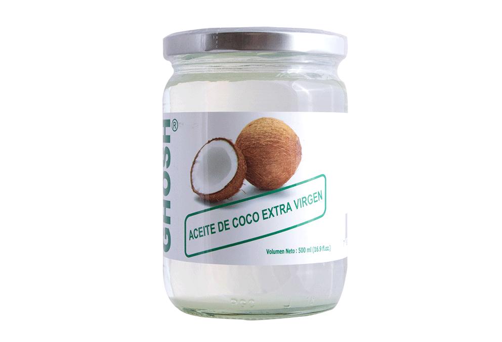 Aceite de Coco Extra Virgen Ghosh