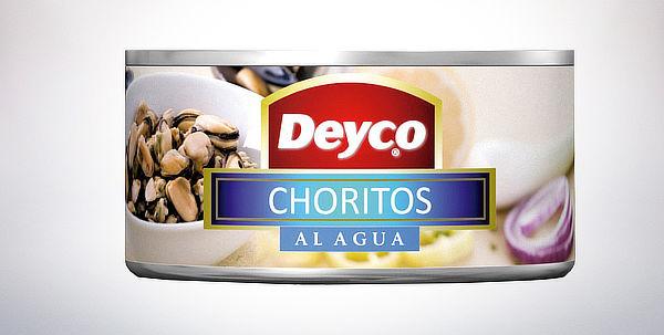 Choritos en agua Deyco