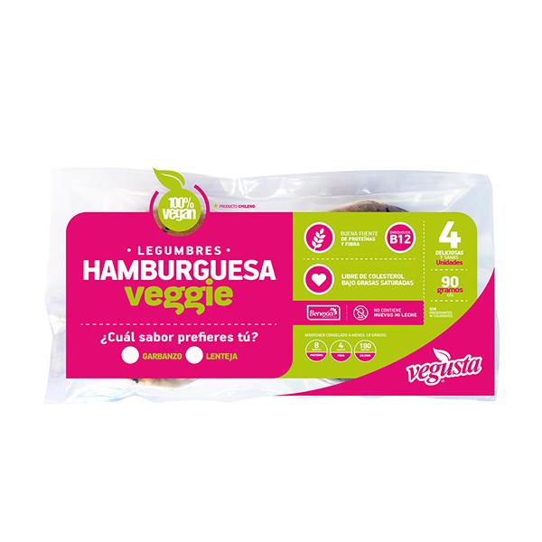 Hamburguesa de Garbanzo