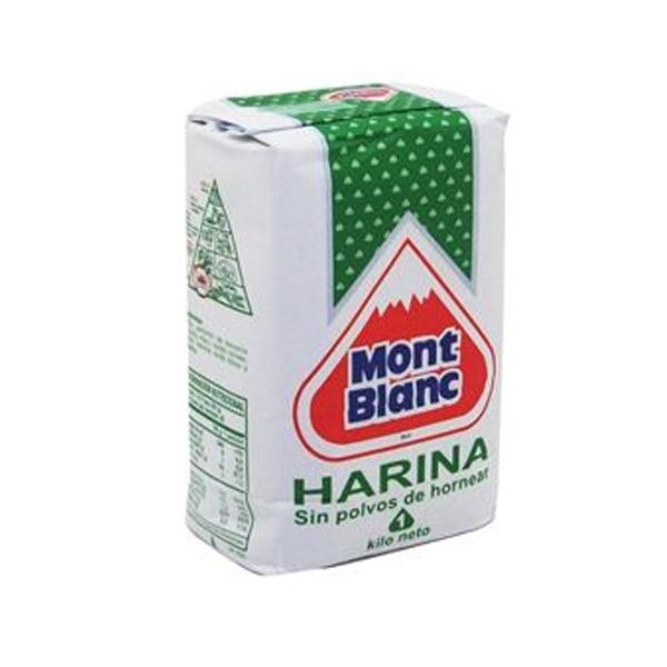 Harina Montblanc sin polvos