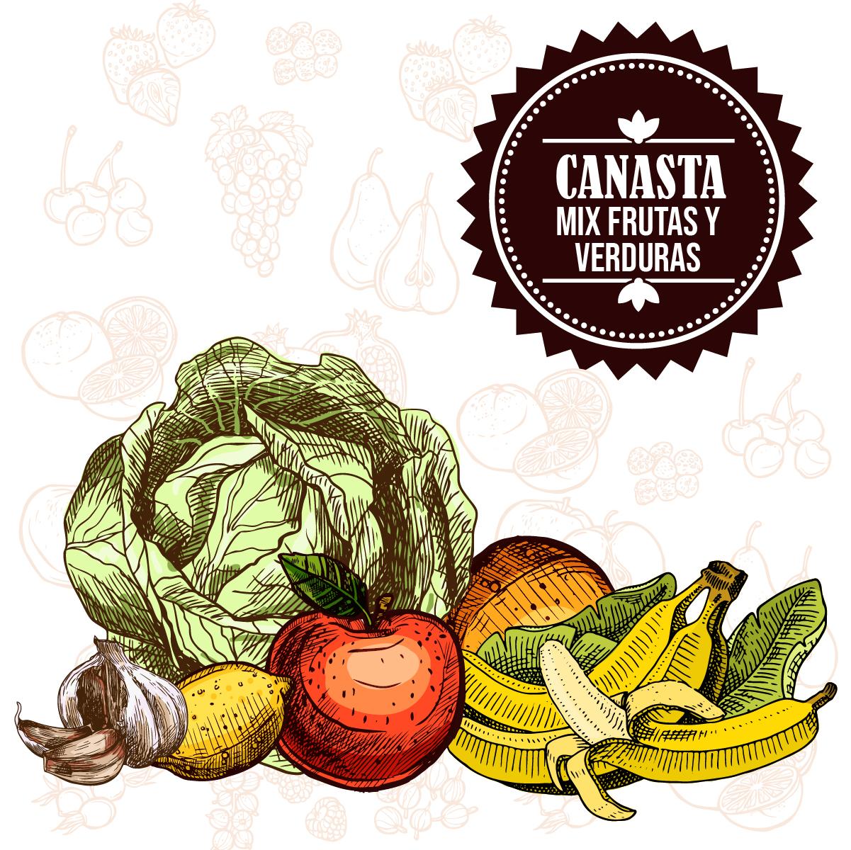 Verduras Frescas 4 personas