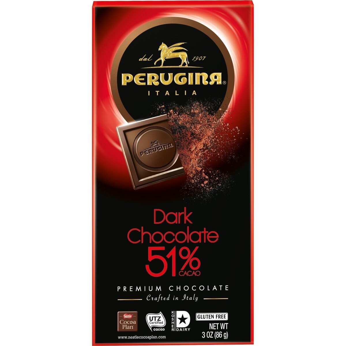 Chocolate amargo Perugina  51%