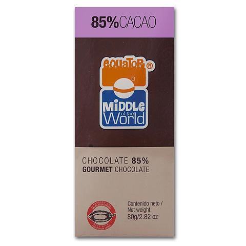 Chocolate Equator  72% cacao 80gr