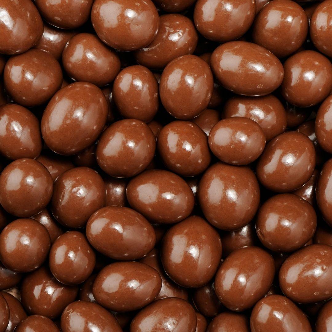 Maní bañado en chocolate