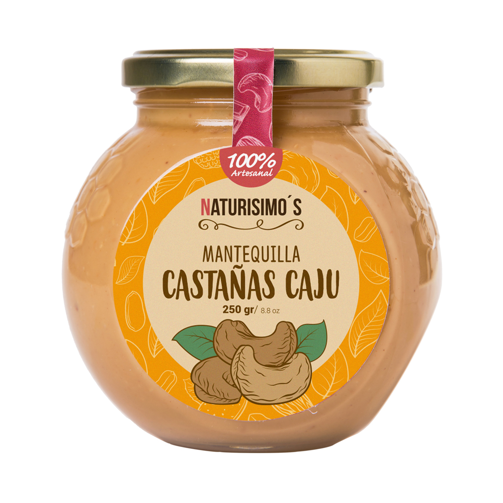 Mantequilla de Castañas de Cajú
