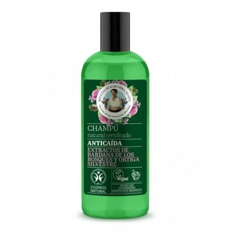 Shampoo anticaida vegano