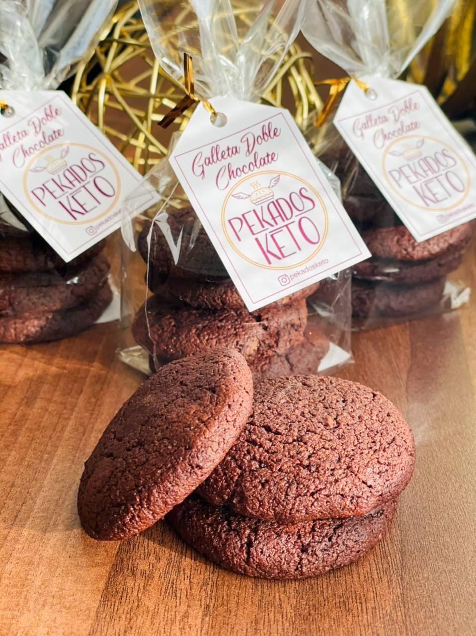 Doble Chocolate Pekados Keto