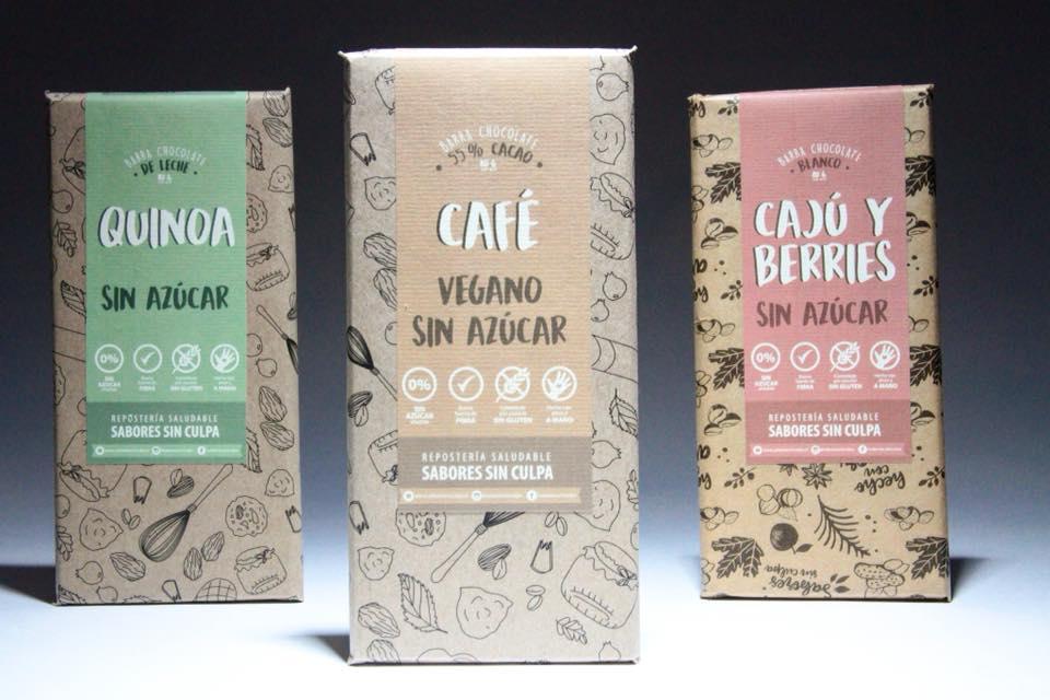 Nuevas Barras de Chocolate Sin Culpas