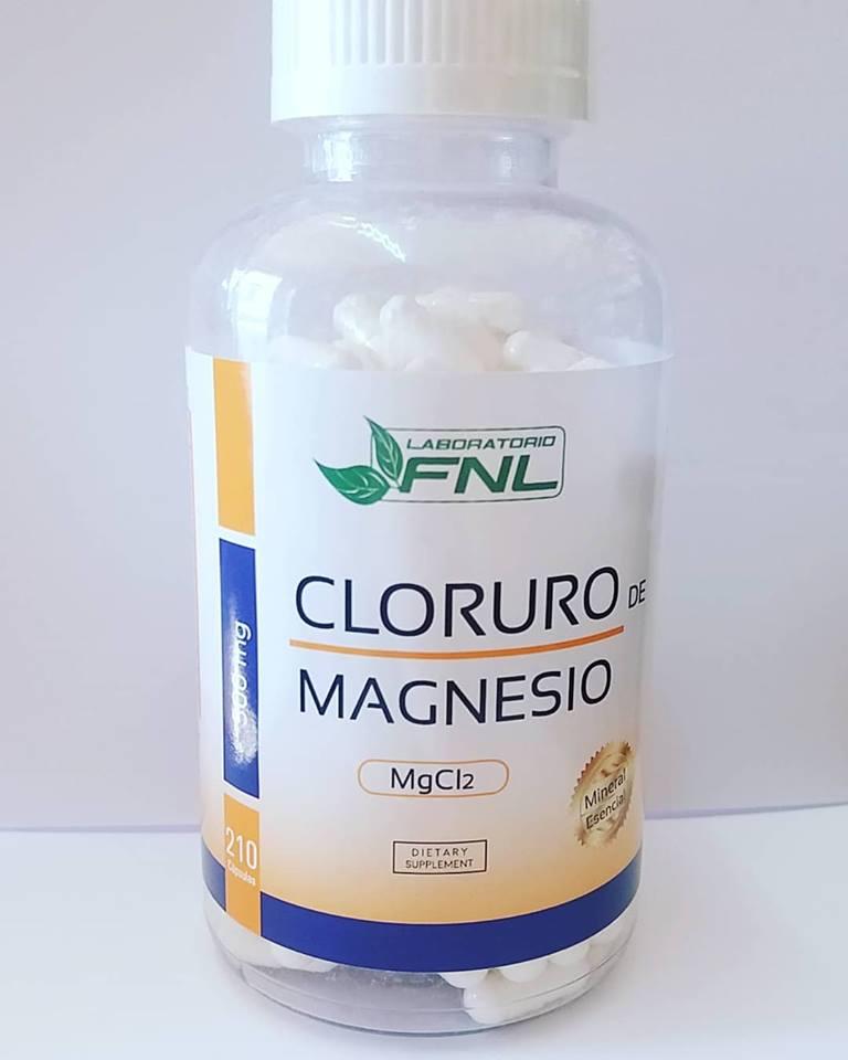 Cloruro de Magnesio 210 cáp