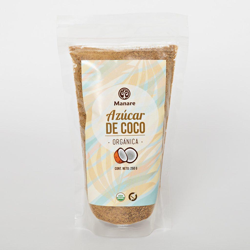 Azúcar de coco Manare 250 g