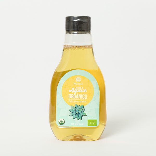 Syrup de Agave Ambar Orgánico Manare