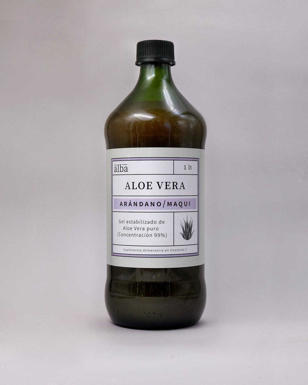 Aloe vera con Arándanos y Maqui 1 litro