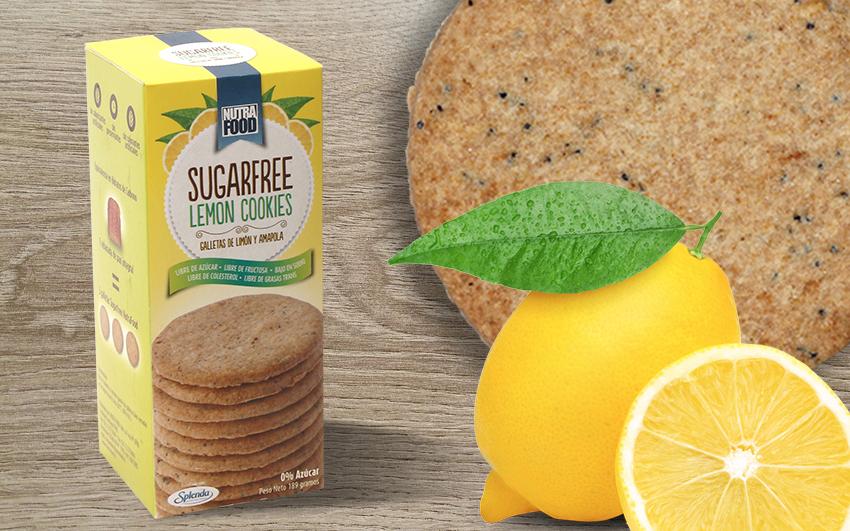 Galletas sin Azúcar Sabor Limón