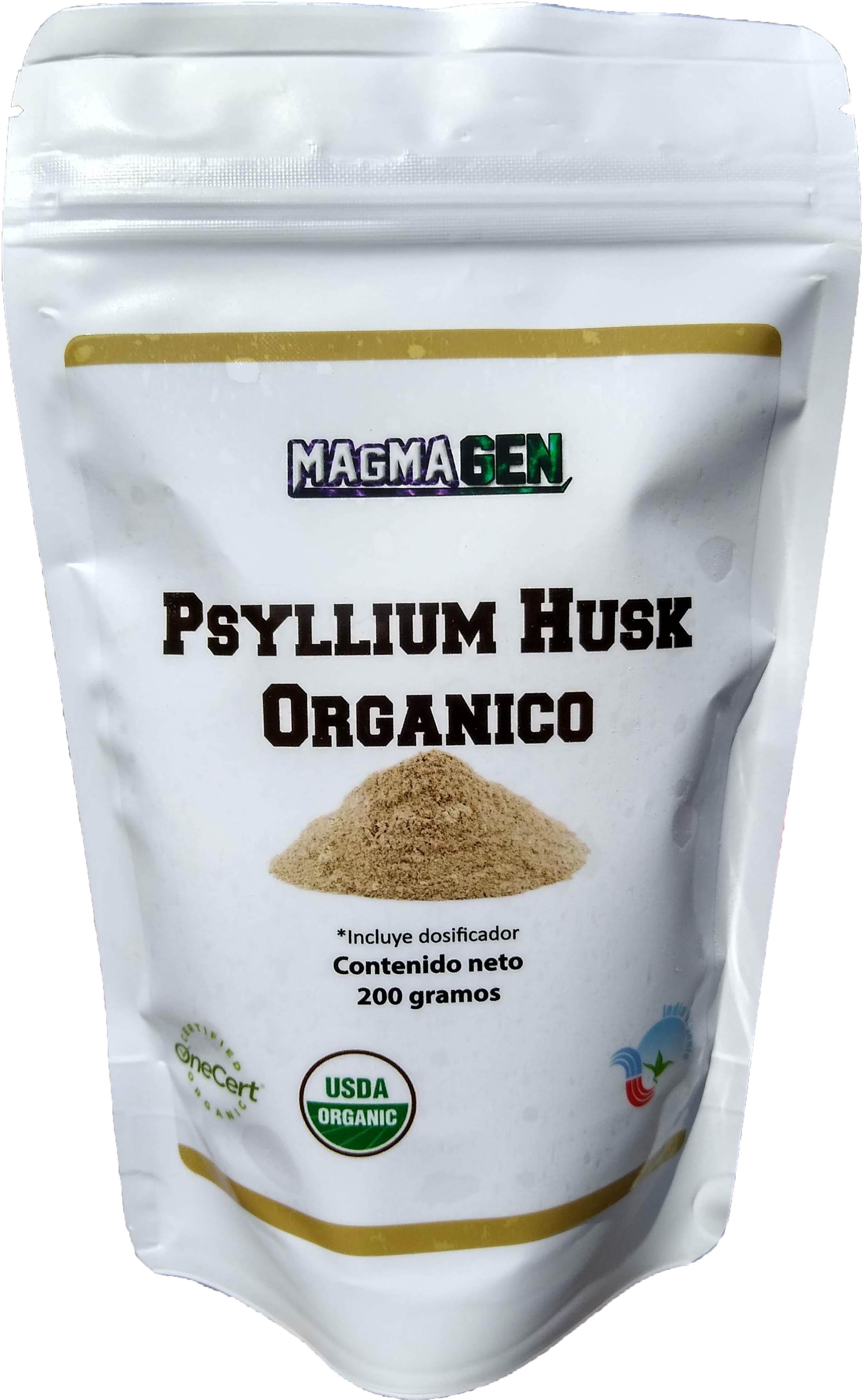 Psyllium Husk Orgánico 200 g.