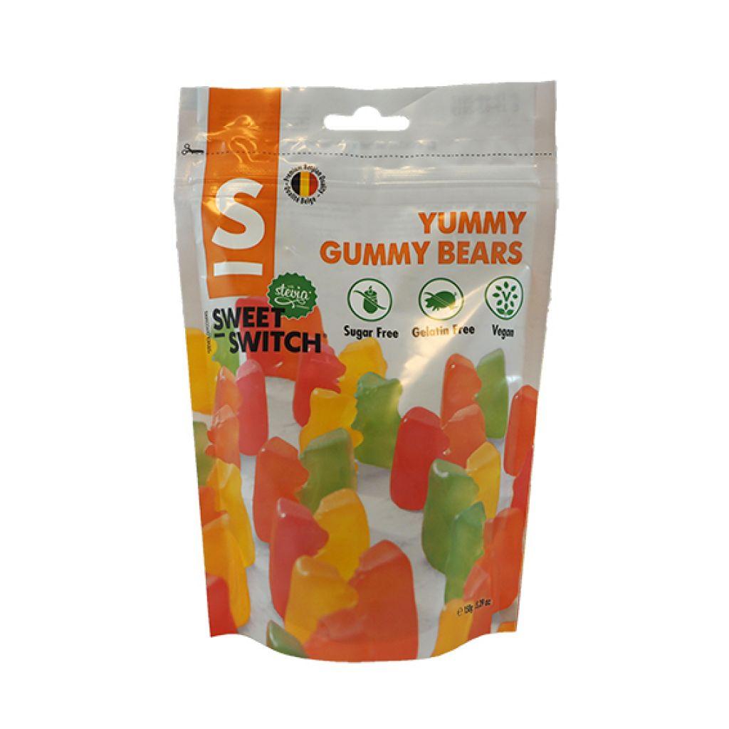 Yummy Gummies Bear Gomitas de Oso  Sin Azúcar