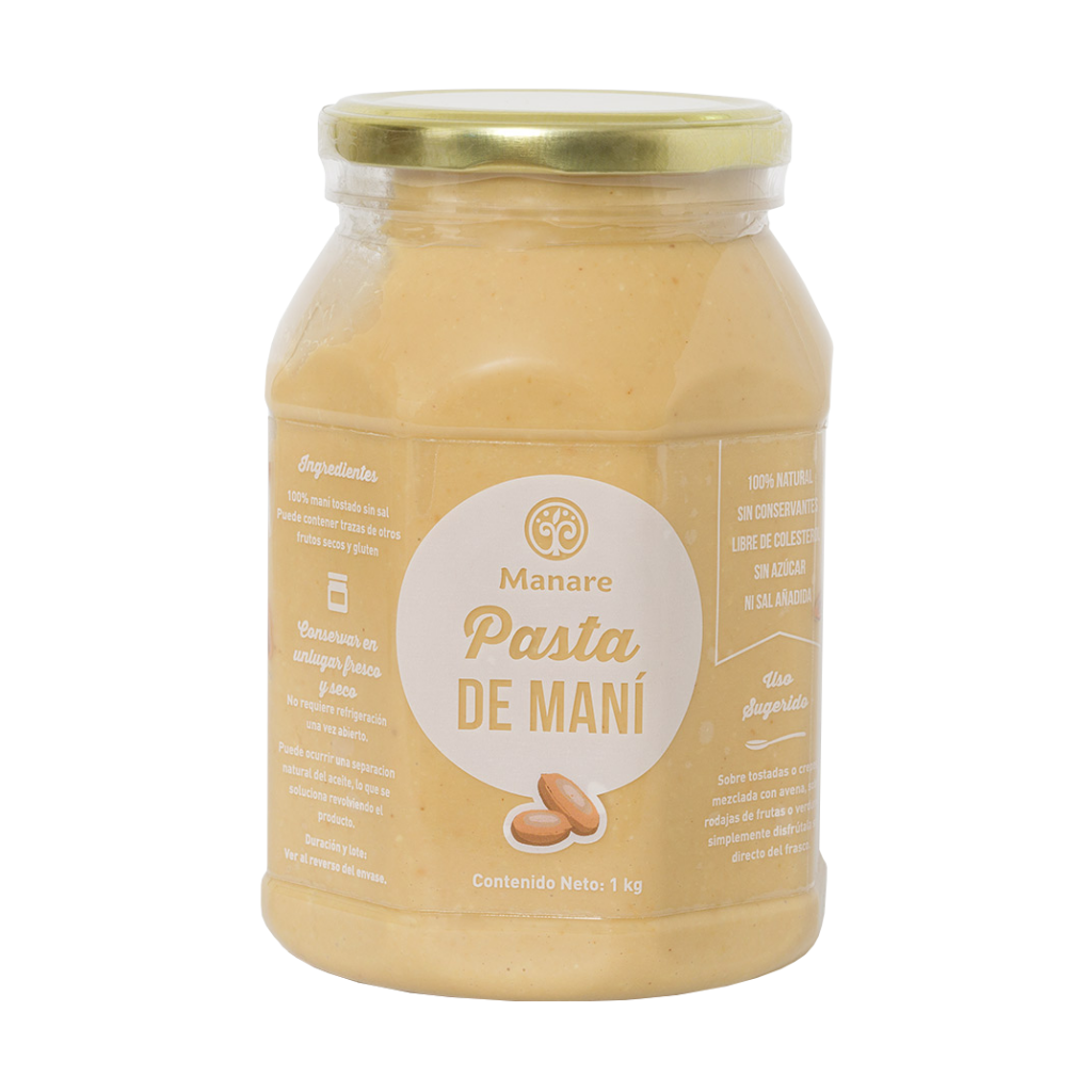 Mantequilla de Maní Manare Kilo