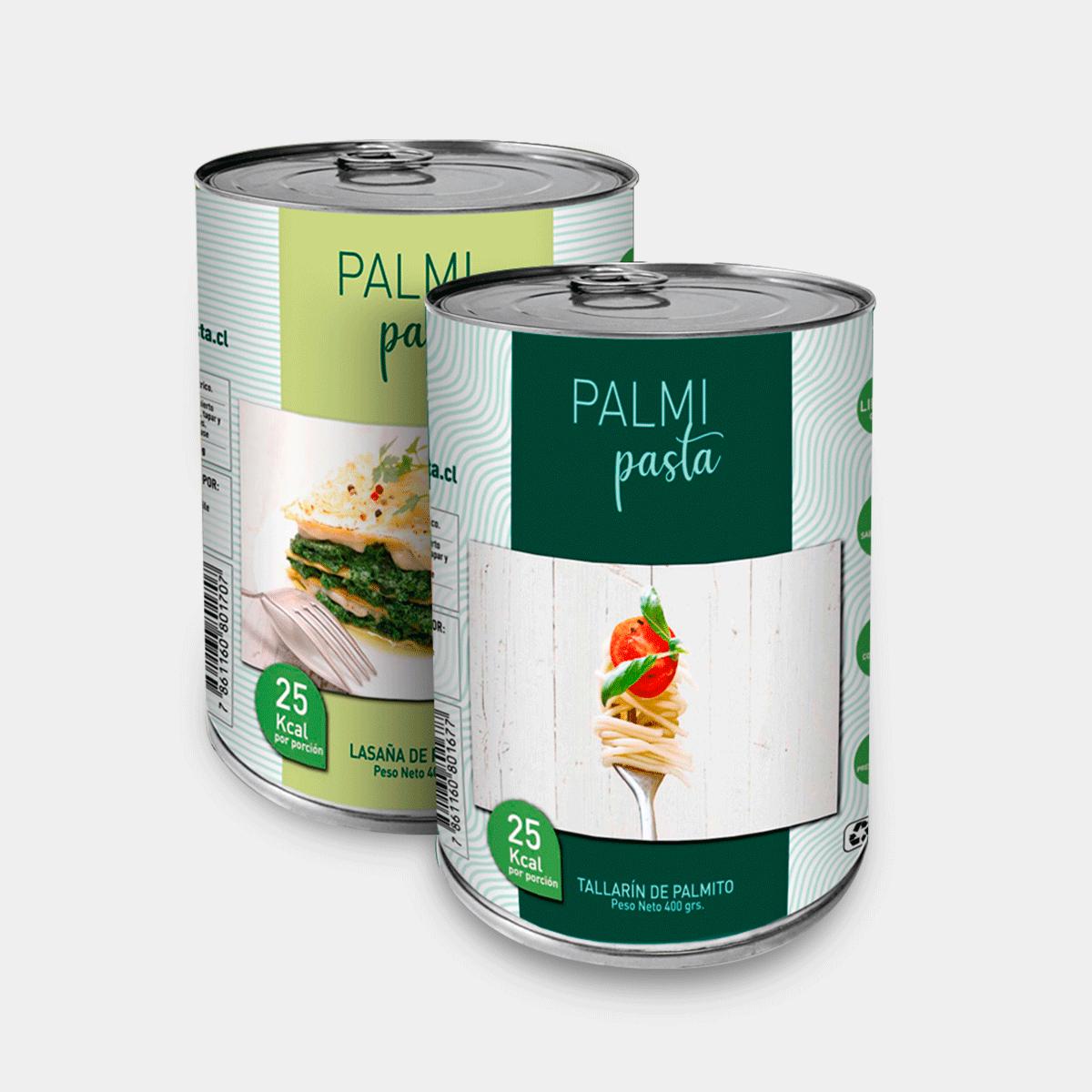 Pasta de Palmitos Tallarin 400 gr