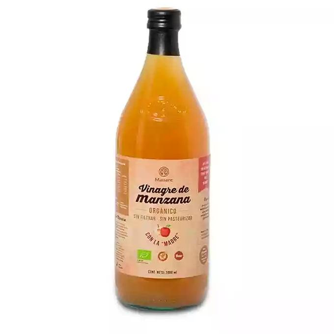 Vinagre de Manzana organico litro Manare