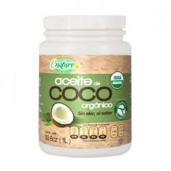 Aceite de coco sin Olor  Orgánico Litro