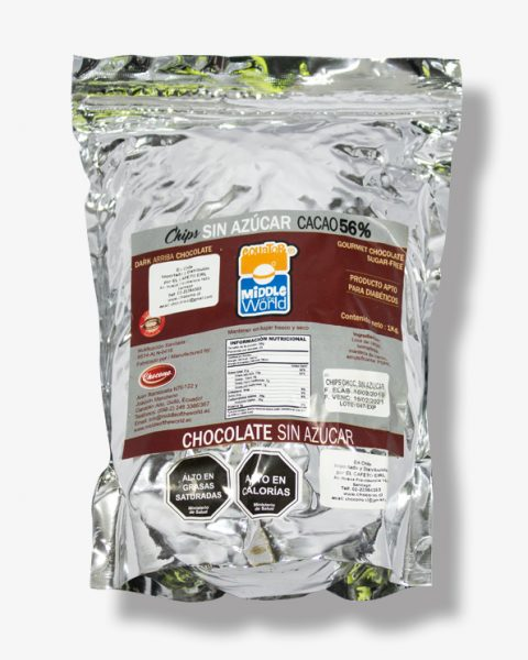 Chips de Chocolate Vegano Sin Azúcar Kg