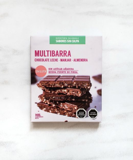 Multibarra Chocolate Leche, Manjar, Almendra