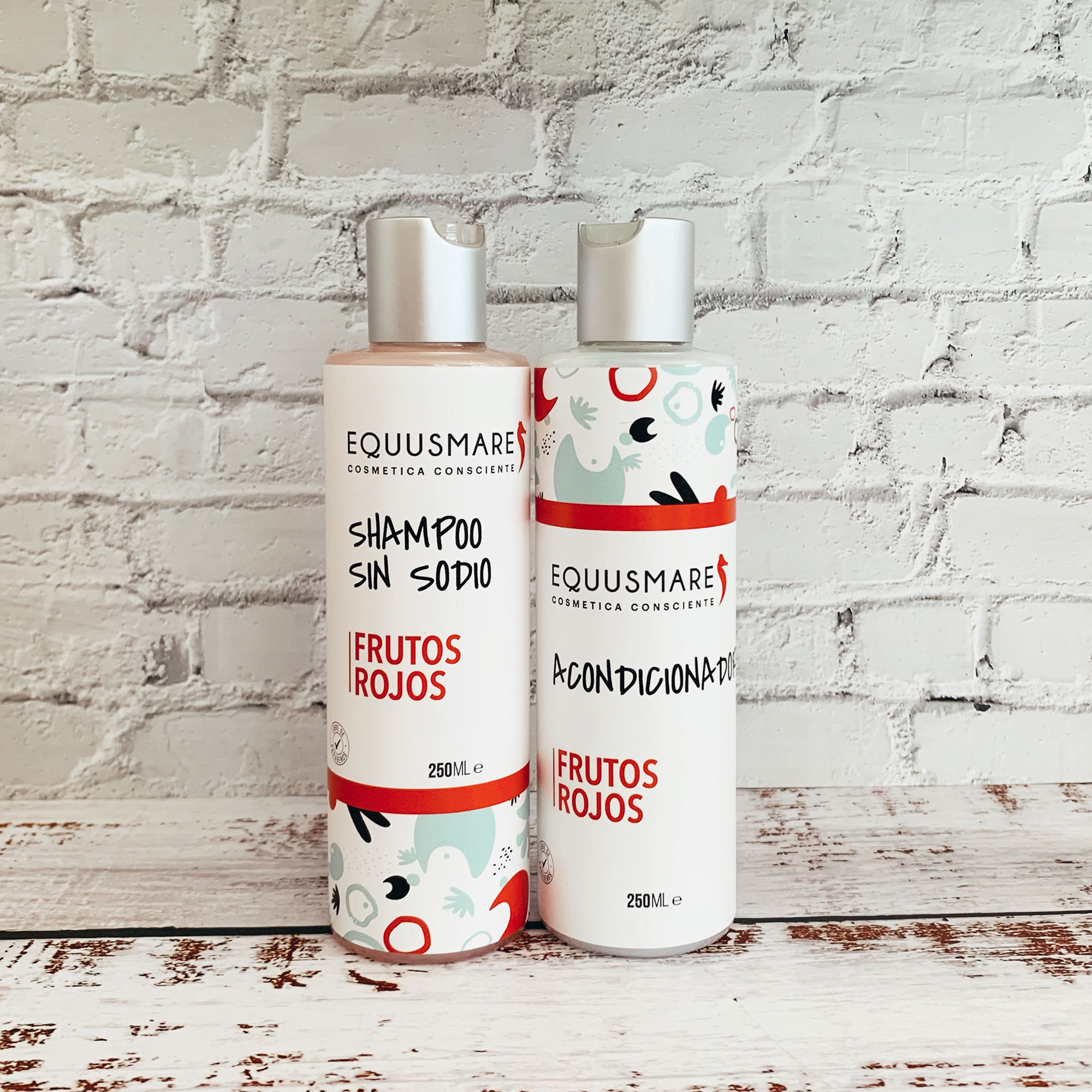 Pack Shampoo Bálsamo Frutos Rojos