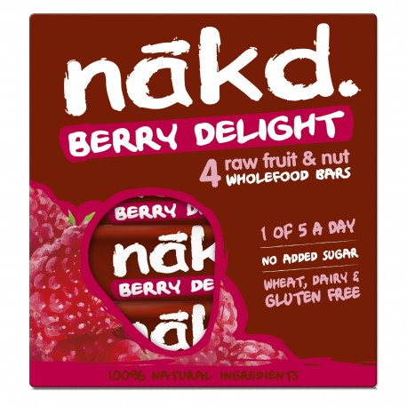 Barritas Nakd Frambuesa Berry Delight