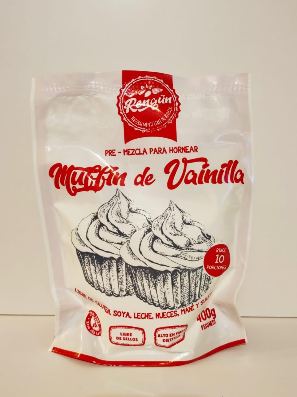 Premezcla Muffin Vainilla Sin Gluten