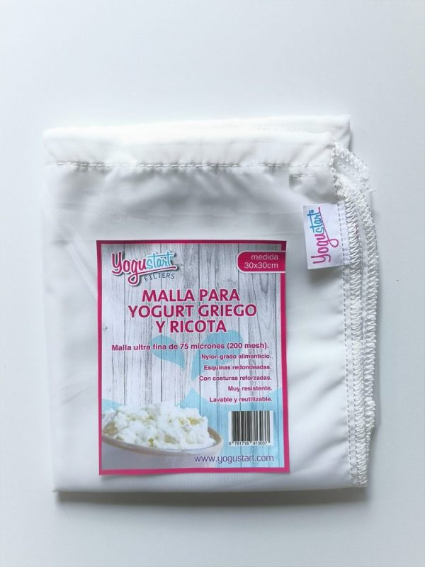 Malla Para Yogurt Griego y Ricota