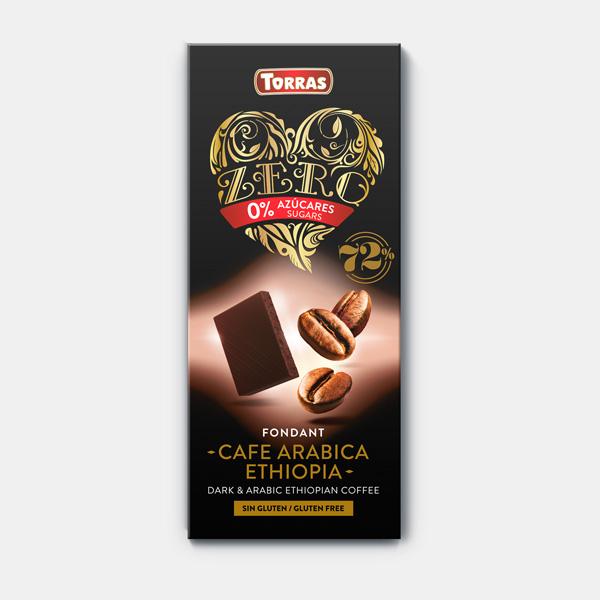 Chocolate Fondant Café Arábica  Sin Azúcar