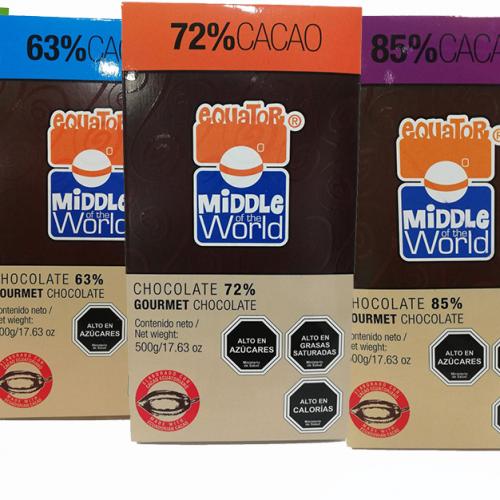 Chocolate 72% Cacao 500 G