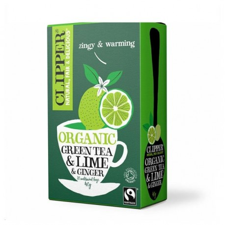 Green tea Lime And Ginger Clipper