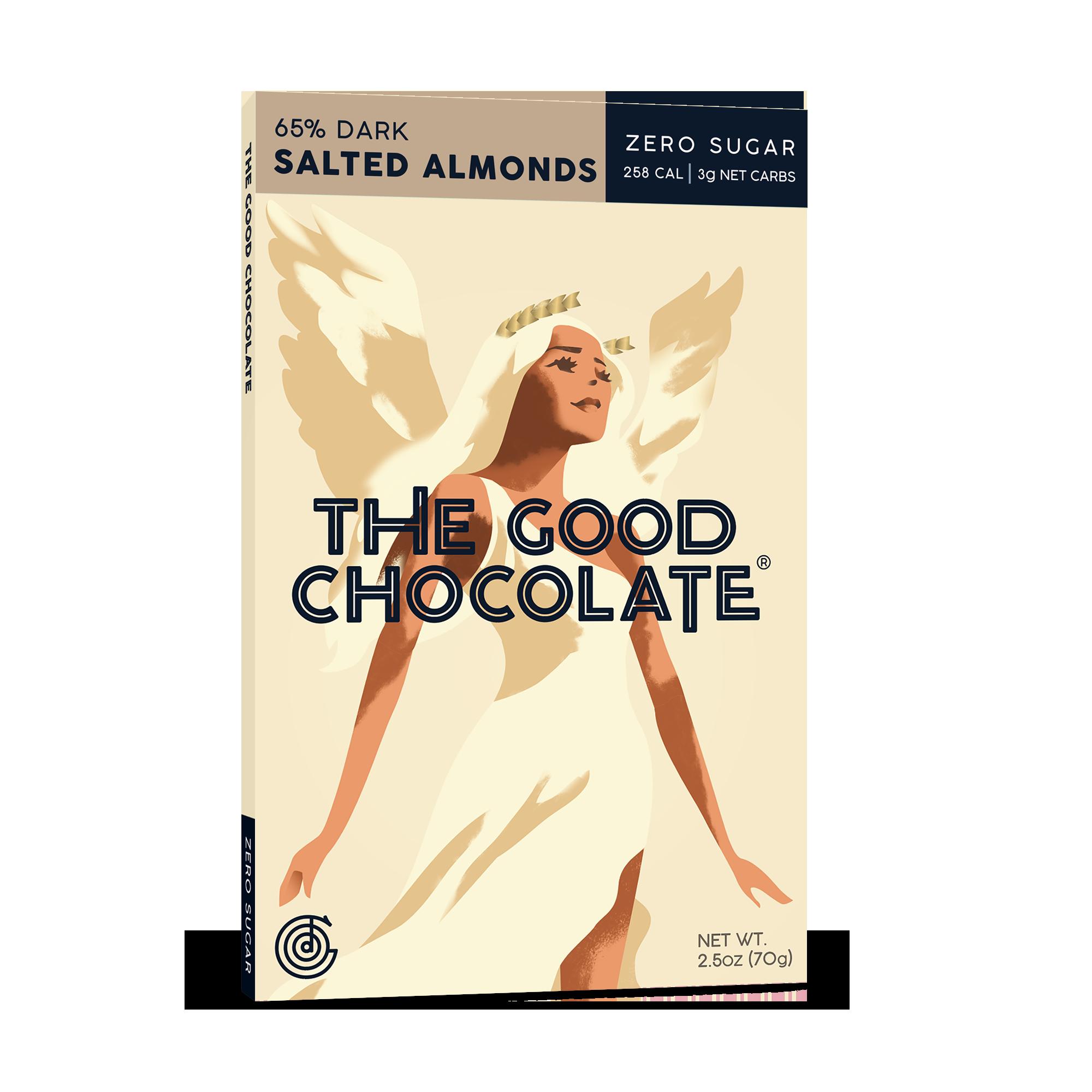 The Good Chocolate Salted Almond