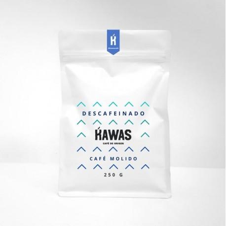 Cafe descafeinado molido Kawas