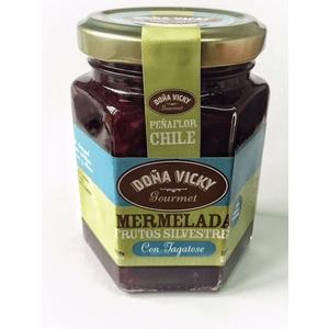 Mermelada de Frutos silvestres sin azúcar con alulosa
