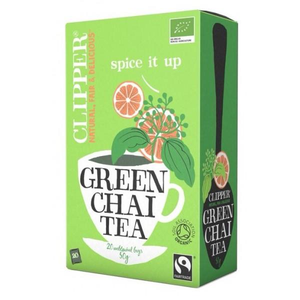 Green Chai tea  orgánico Clipper