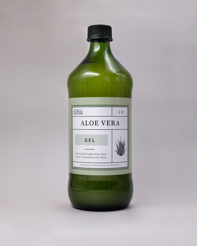 Aloe vera Gel puro 1  litro