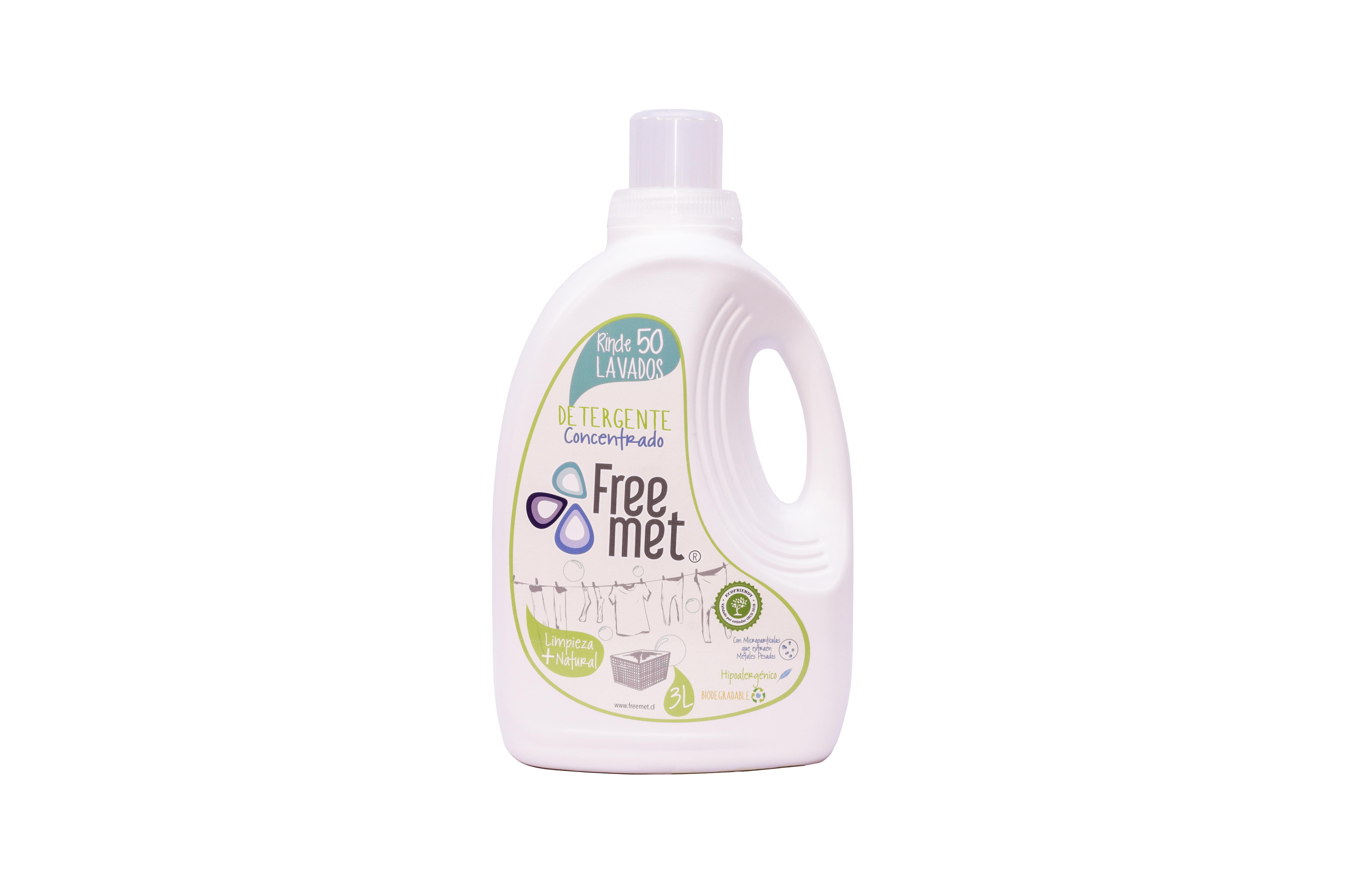 Detergente de Ropa Ecoamigable Freemet