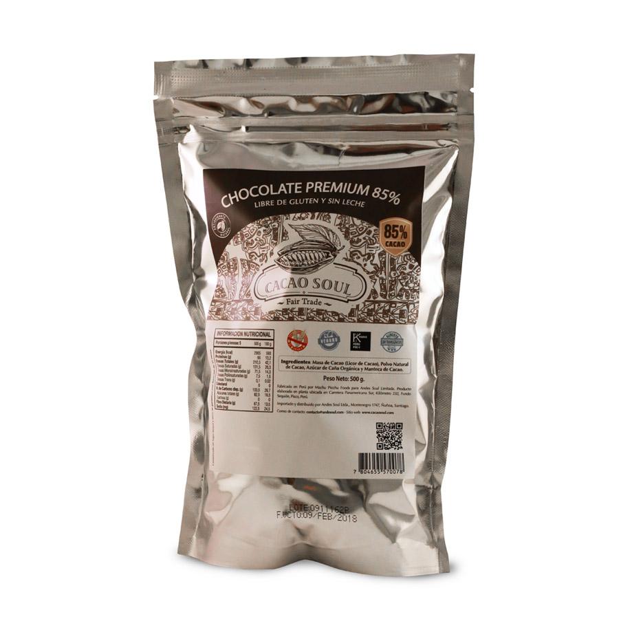 Cobertura 85% Cacao