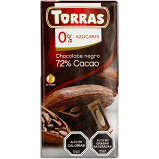 Chocolate negro 72% cacao Torras