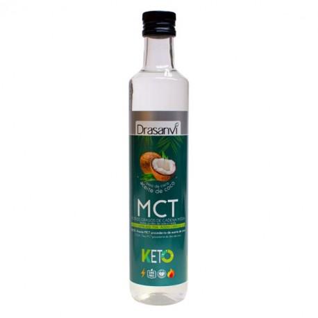 Aceite mct coco keto 500 cc Marca Drasanvi