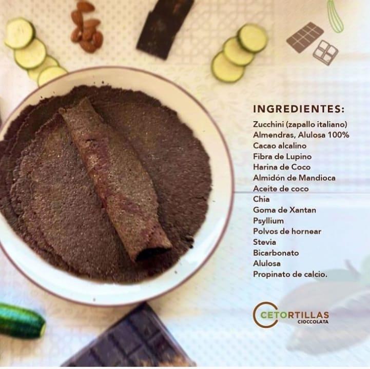 Cetortillas Chocolate